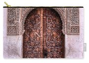 Door Of The Court Of The Myrtles Carry-all Pouch