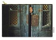 Door Peeking Carry-all Pouch by Carlos Caetano