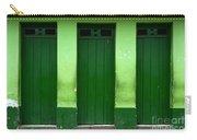 Doors And Windows Lencois Brazil 1 Carry-all Pouch