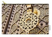 Doors Of The Hassan Mosque In Rabat Carry-all Pouch