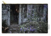 Doorway And Flowers Carry-all Pouch