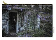 Doorway And Flowers Two Carry-all Pouch