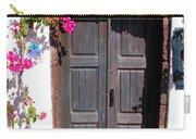 Doorway Oia Santorini Greek Islands Carry-all Pouch