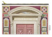 Doorway To The Raphael Loggia Carry-all Pouch