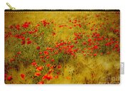 Dots Of Red Carry-all Pouch