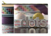 Dotty Diptych Carry-all Pouch