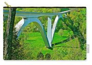 Double-arched Bridge Spanning Birdsong Hollow At Mile 438 Of Natchez Trace Parkway-tennessee Carry-all Pouch