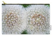 Double Dandelion Wishes Carry-all Pouch