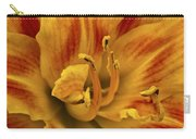 Double Daylily Carry-all Pouch