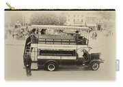 Double Decker Bus Main Street Disneyland Heirloom Carry-all Pouch
