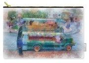 Double Decker Bus Main Street Disneyland Photo Art 01 Carry-all Pouch