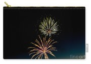 Double Fireworks Blast Carry-all Pouch by Robert Bales