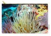 Double Giant Anemone And Arrow Crab Carry-all Pouch