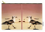 Double Gulls Collage Carry-all Pouch