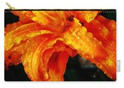 Double Petaled Lilly Carry-all Pouch