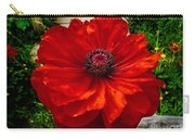 Double Poppy Carry-all Pouch