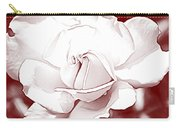 Double Rose Sweet Carry-all Pouch