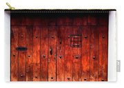 Double Studded Wood Doors Carry-all Pouch