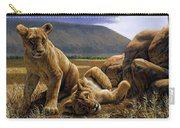 Double Trouble Carry-all Pouch by Crista Forest