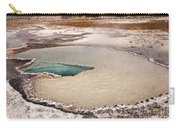 Doublet Pool In Upper Geyser Basin In Yellowstone National Park Carry-all Pouch