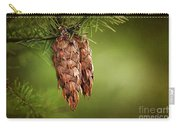Douglas Fir Cones Carry-all Pouch