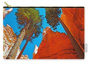 Douglas Firs On Wall Street On Navajo Trail In Bryce Canyon National Park-utah Carry-all Pouch