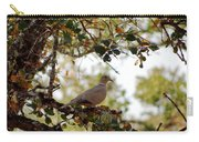 Dove In Autumn Oak Tree Lower Lake Ca Carry-all Pouch