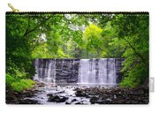 Dove Lake Waterfall At Gladwyne Carry-all Pouch