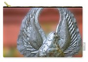 Garden Dove Of Peace Sculpture Carry-all Pouch