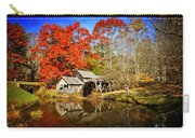 Down By The Old Mill Stream  Carry-all Pouch by Lynn Bauer