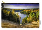 Down Hill Into Fall Carry-all Pouch