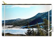 Down In The Valley Triptych Carry-all Pouch