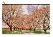 Down The Cherry Lined Lane Carry-all Pouch