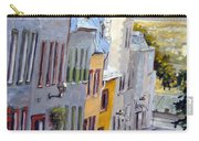 Down The Hill Old Quebec City Carry-all Pouch