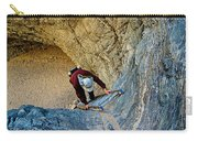 Down The Ladder In Big Painted Canyon Trail In Mecca Hills-ca  Carry-all Pouch