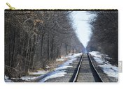 Down The Rails Carry-all Pouch