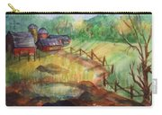 Down The Road A Piece Carry-all Pouch