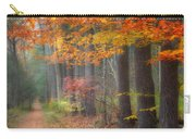 Down The Trail Square Carry-all Pouch by Bill Wakeley