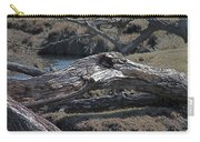 Down Tree Along Creek Carry-all Pouch