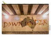 Down Under Map  Carry-all Pouch