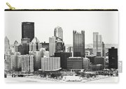 Cold Winter Day In Pittsburgh Pennsylvania Carry-all Pouch