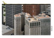 Downtown Aerial Of Detroit Michigan Carry-all Pouch