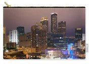 Downtown Atlanta Skyline At Dusk Carry-all Pouch