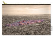 Boulder Colorado  Twenty-five Square Miles Surrounded By Reality Carry-all Pouch