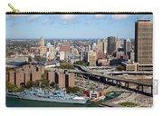 Downtown Buffalo Skyline Carry-all Pouch