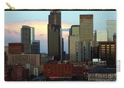 Downtown Denver At Dusk Carry-all Pouch