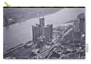 Downtown Detroit Carry-all Pouch