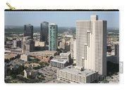 Downtown Fort Worth Skyline Carry-all Pouch