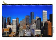 Downtown Houston Painted Carry-all Pouch