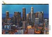Downtown La Square Carry-all Pouch